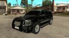 GMC Yukon Unmarked FBI for GTA San Andreas