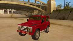 Land Rover Defender for GTA San Andreas