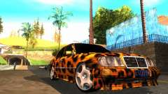 Mercedes-Benz E500 Leopard for GTA San Andreas
