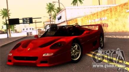 Ferrari F50 Spider for GTA San Andreas