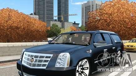 Cadillac Escalade ESV 2012 DUB for GTA 4