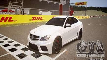 Mercedes-Benz C63 AMG Stock Wheel v1.1 for GTA 4