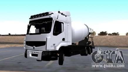 Renault Premium Mixer for GTA San Andreas