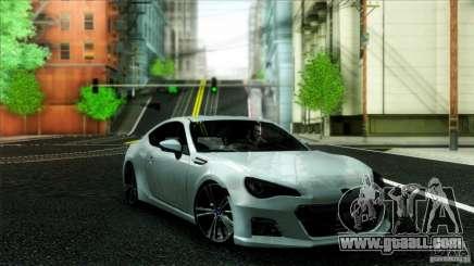 Subaru BRZ v2 for GTA San Andreas