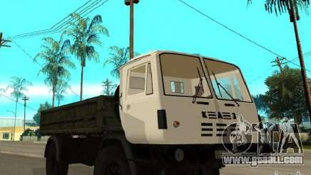 KAZ 4540 dump truck for GTA San Andreas