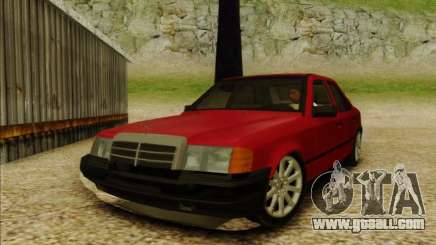 Mercedes-Benz E Class W124 for GTA San Andreas