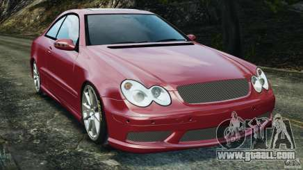 Mercedes-Benz CLK 63 AMG for GTA 4