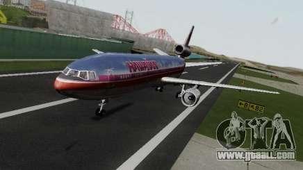 McDonell Douglas DC-10-30 Hawaiian for GTA San Andreas