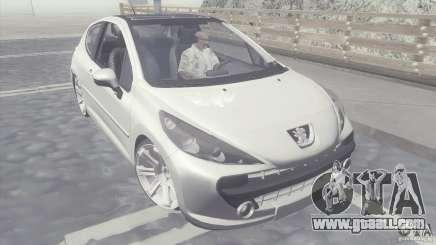 Peugeot 207 RC for GTA San Andreas