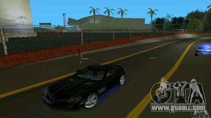 Mercedes-Benz SLR McLaren 722 Black Revel for GTA Vice City