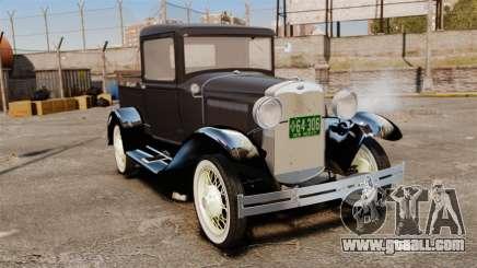 Ford Model T Truck 1927 for GTA 4