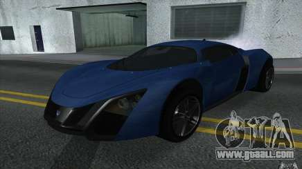 Marussia B2 2010 for GTA San Andreas