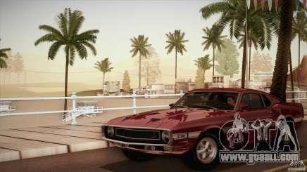 Shelby GT500 428 Cobra Jet 1969 for GTA San Andreas