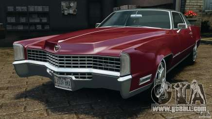 Cadillac Eldorado 1968 for GTA 4