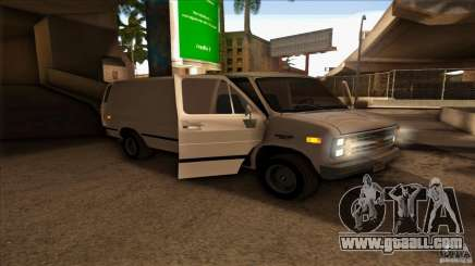 Chevrolet Van G20 for GTA San Andreas