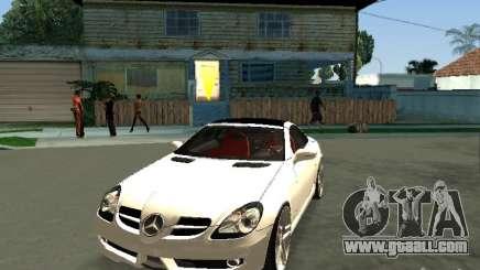 Mercedes Benz SLK 300 for GTA San Andreas