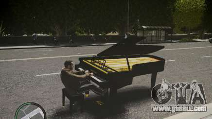 Crazy Piano for GTA 4