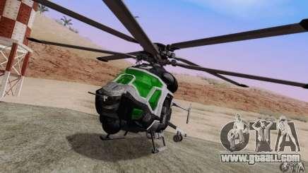 AH-2 Сrysis 50 C.E.L.L. Helicopter for GTA San Andreas