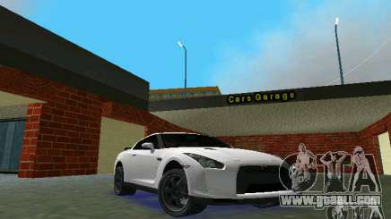 Nissan GT-R Spec V 2010 v1.0 for GTA Vice City