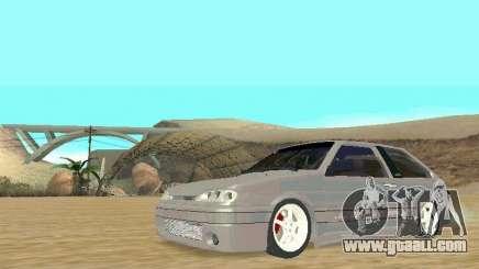 VAZ 2113 silver for GTA San Andreas