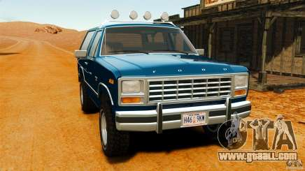 Ford Bronco 1980 for GTA 4