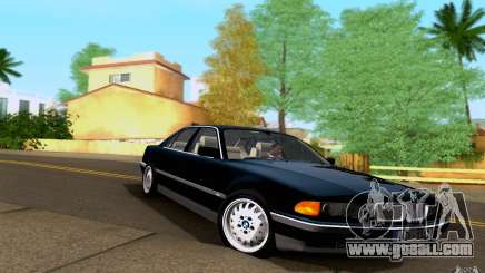 BMW 730i E38 FBI for GTA San Andreas