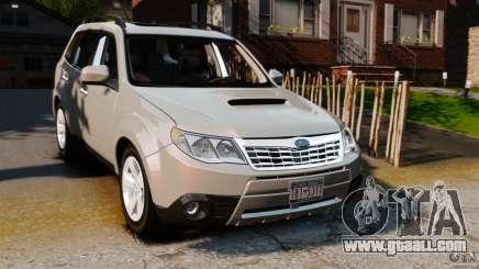 Subaru Forester 2008 XT for GTA 4