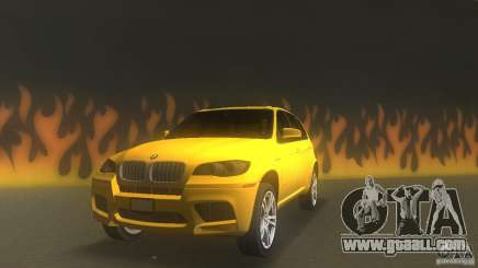 BMW X5 for GTA Vice City