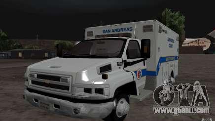 Chevrolet C4500 Ambulance for GTA San Andreas
