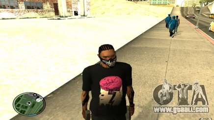 Skull Mask for GTA San Andreas