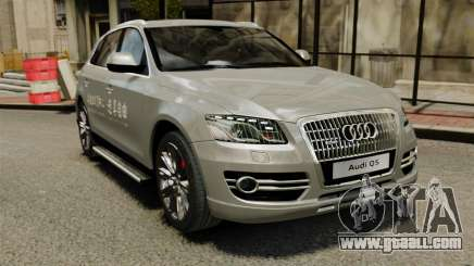 Audi Q5 Chinese Version for GTA 4