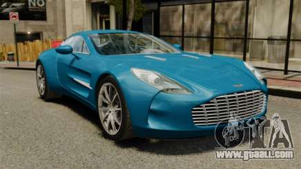 Aston Martin One-77 for GTA 4
