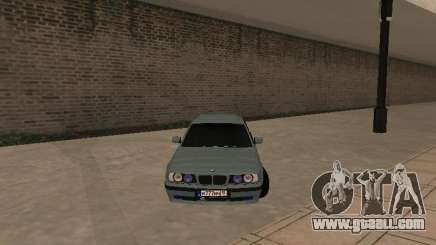 BMW E34 540i V8 for GTA San Andreas