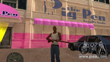 Musket for GTA San Andreas