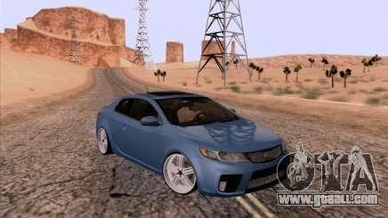 Kia Cerato Coupe 2011 for GTA San Andreas