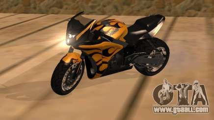 Bajaj Pulsar 620 Custom for GTA San Andreas