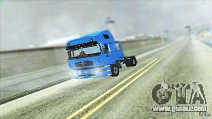 Man F2000 for GTA San Andreas