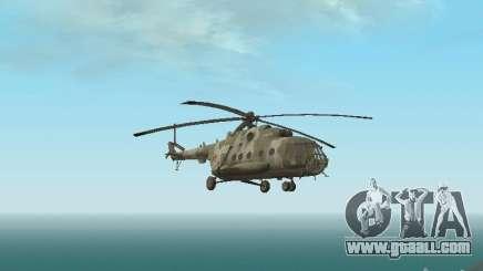 MI-8 MTV for GTA San Andreas