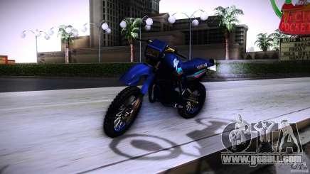 Yamaha DT 180 for GTA San Andreas