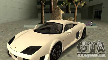 Noble M600 white for GTA San Andreas