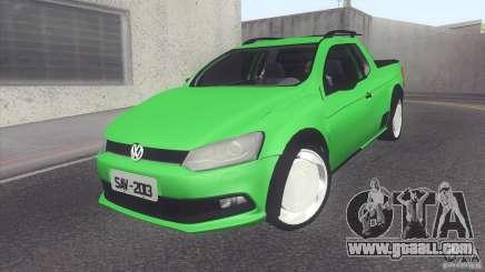 Volkswagen Saveiro 2013 for GTA San Andreas