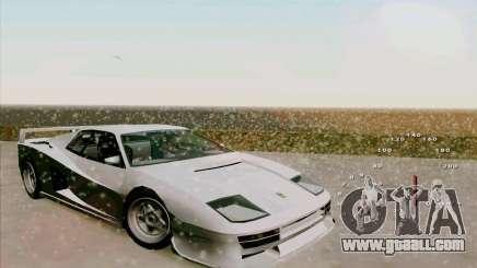 Ferrari Testarossa Custom for GTA San Andreas