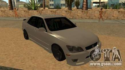 Lexus IS300 JDM for GTA San Andreas