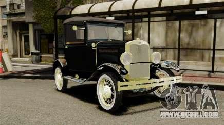 Ford Model T 1926 for GTA 4
