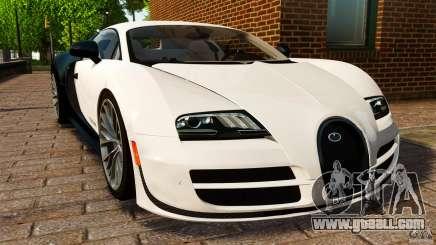 Bugatti Veyron 16.4 Super Sport 2011 [EPM] for GTA 4