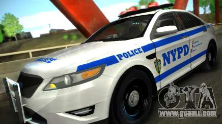 Ford Taurus NYPD 2011 for GTA San Andreas