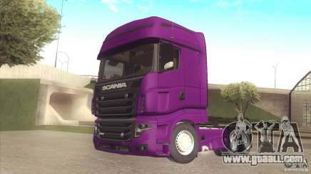 Scania Euro 5 R700 V8 for GTA San Andreas