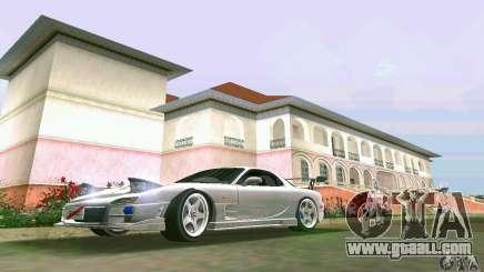 Mazda RX7 tuning for GTA Vice City
