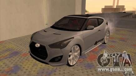 Hyundai Veloster Castor for GTA San Andreas