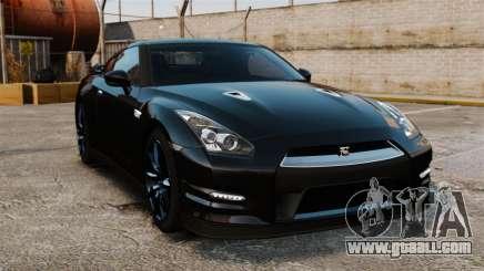 Nissan GT-R Black Edition (R35) 2012 for GTA 4